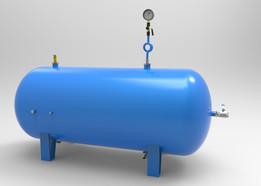 Air pressure tank 900l - horizontal