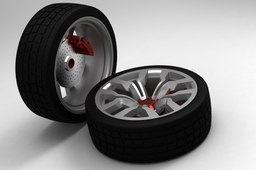 Audi RC wheels for William Barclay