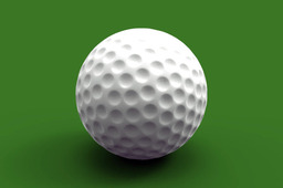 golf ball in .prt