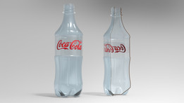 Botella Desechable PET 350ml - CocaCola & Tapa PCO Ø28mm