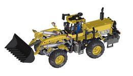 LEGO Technic Frontloader 8265
