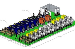 Ejection System Injection Machine