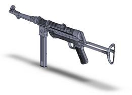Maschinenpistole 38, MP 38