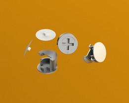 Eccentric screw Cover