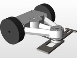 3D Printed 3lb Undercutter Battlebot