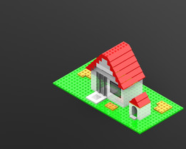 Lego Mini House