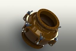 Spherical Joint for Ship onshore Piping System