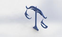 Simbolo do signo de libra