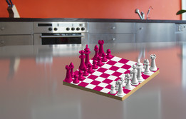 Chess and its cabinet for Children without horse it will come
