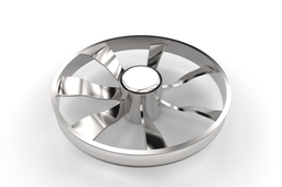 Fan blade (used in ducts)