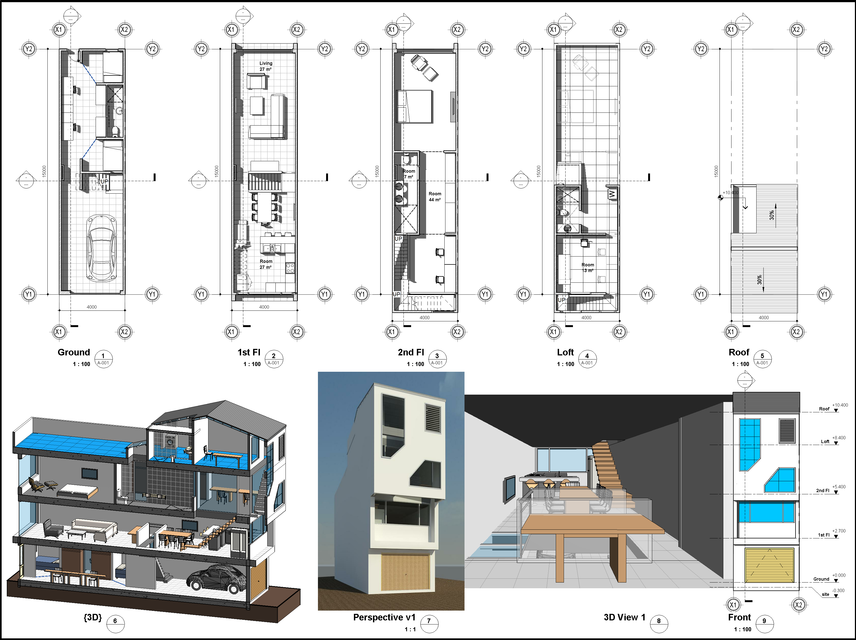 Files: 2 Renderings:1 Engineer:ngoc Architecture, Furniture, Interior Design  ...