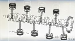 Opposite Cylinder Engine