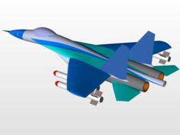 sukhoy 27  plane