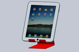 i-Pad Mounting Bracket, sheetmetal, i-Pad docking station