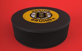 Boston Bruins Puck