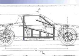 1973 Porsche 914 Roll Cage