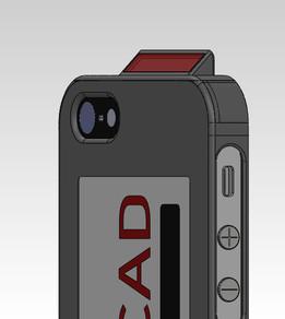 Iphone BAR CODE READER & ACCESS CARD HOLDER
