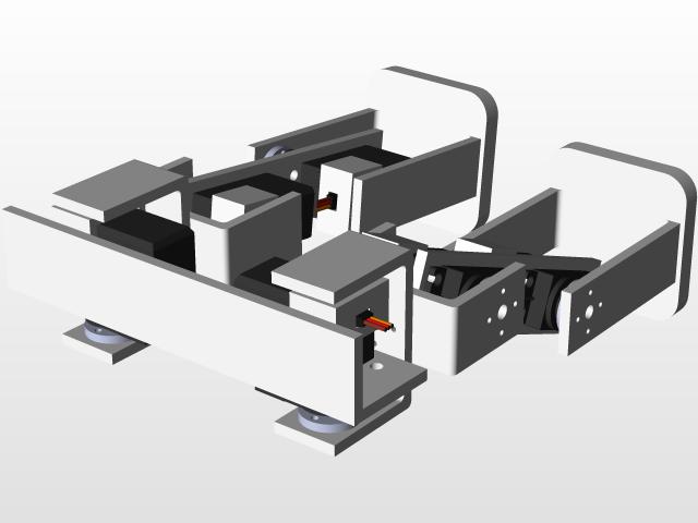 Biped robot | 3D CAD Model Library | GrabCAD