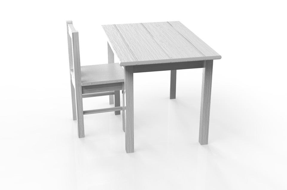 Ikea Table Chair3d Grabcad Cad Model Kritter And Library xBdoCe