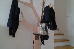 Clothes Rack Tree Design