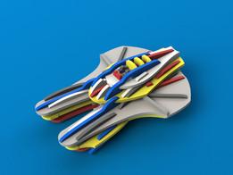 Spaceship 3D puzzle