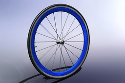 road bike front wheel