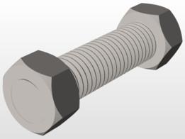 bolt - Recent models   3D CAD Model Collection   GrabCAD
