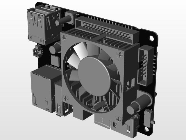 ODROID XU4 | 3D CAD Model Library | GrabCAD