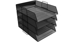 Mesh Paper Tray Set