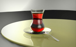 Tea, Turkish style.