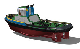 Virtual Shipyard: SMIT Denemarken Tug - update1