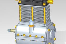 reciprocating compressor (300 cm^3)