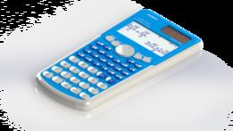 Casio Calculator - Blue