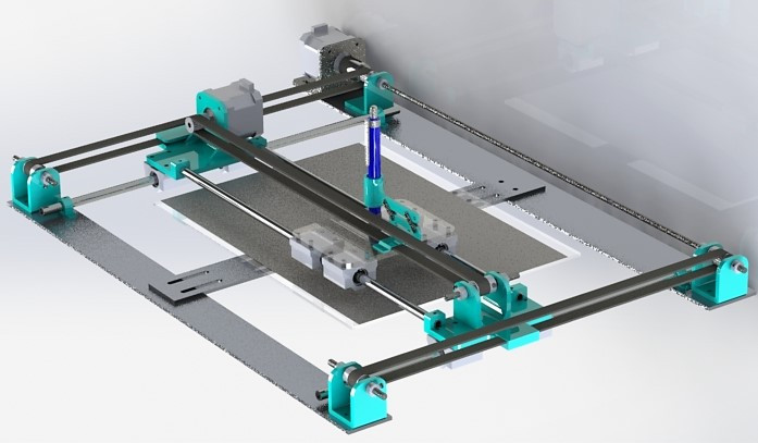 XY Plotter | 3D CAD Model Library | GrabCAD