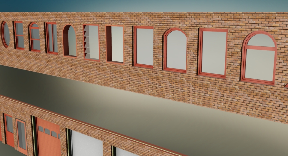 Parametric design Doors & Windows | 3D CAD Model Library