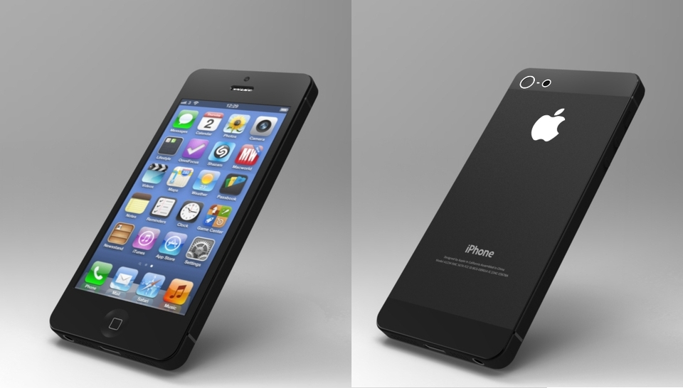 iphone 5 models apple iphone 5 model 3d cad model library grabcad 11013