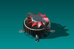 CPU Heatsink Fan