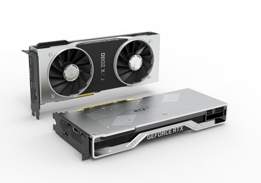 Nvidia GeForce RTX 2080 | 3D CAD Model Library | GrabCAD