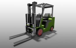 Forklift-Mitsubishi-FGC30N