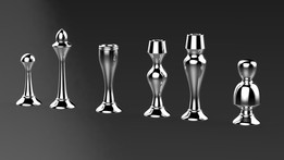 Chess pieces for Lathe