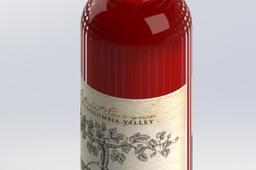Sample Wine Bottle