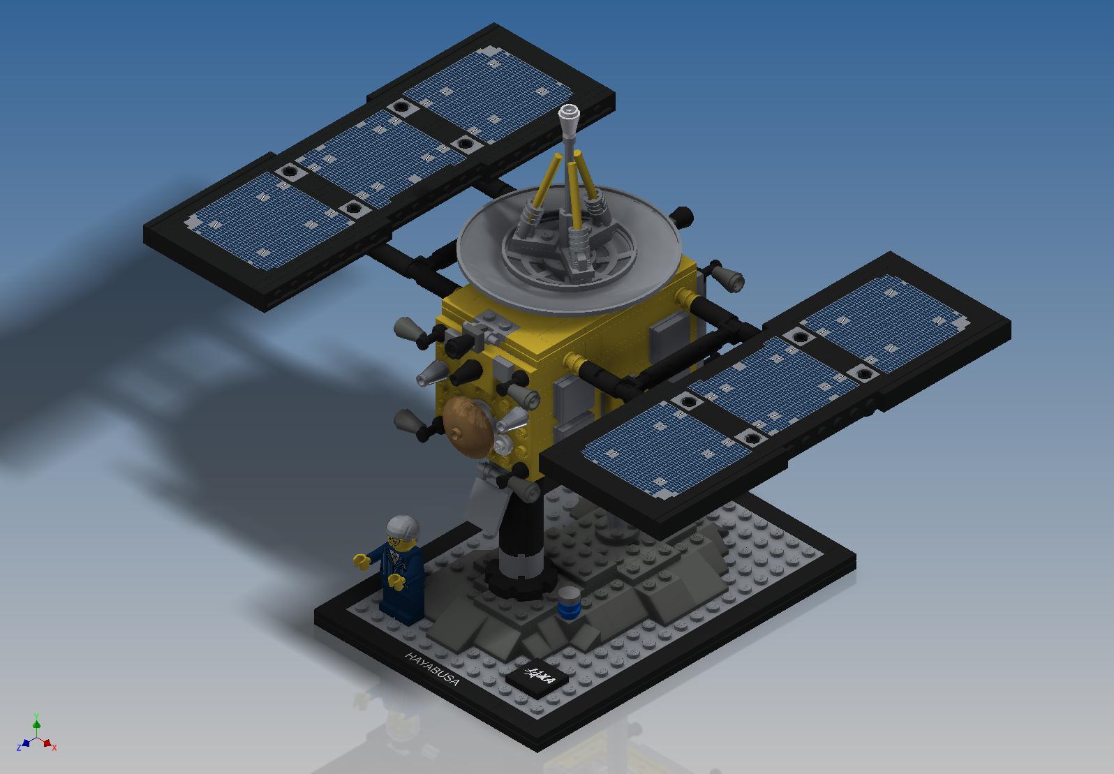 Lego Ideas - Hayabusa (21101) by DK