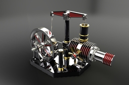 Beamer Stirling Engine