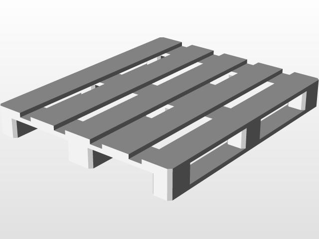 Wood Pallet | 3D CAD Model Library | GrabCAD