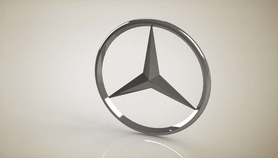Mercedes benz logo step igesstlsolidworks 3d cad model mercedes benz logo step igesstlsolidworks 3d cad model grabcad voltagebd