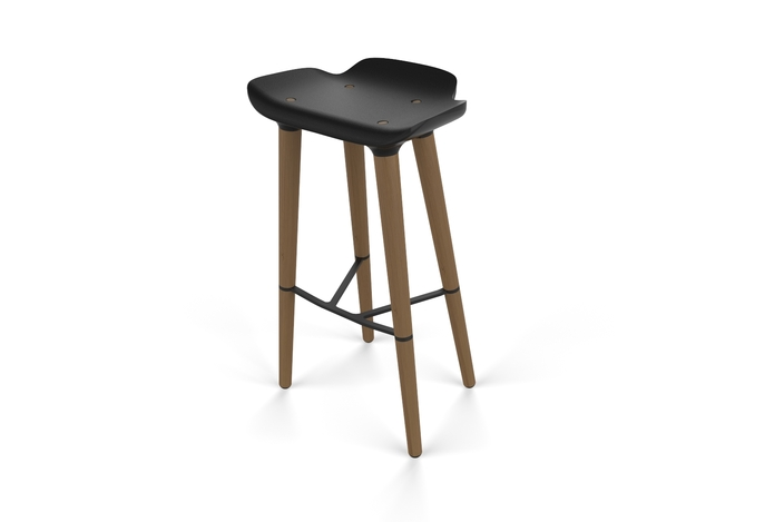Quinze amp Milan Pilot Bar stool SOLIDWORKS 3D CAD  : medium from grabcad.com size 704 x 469 jpeg 38kB