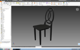 Chair - Figure C for /r/CAD Challenge 16