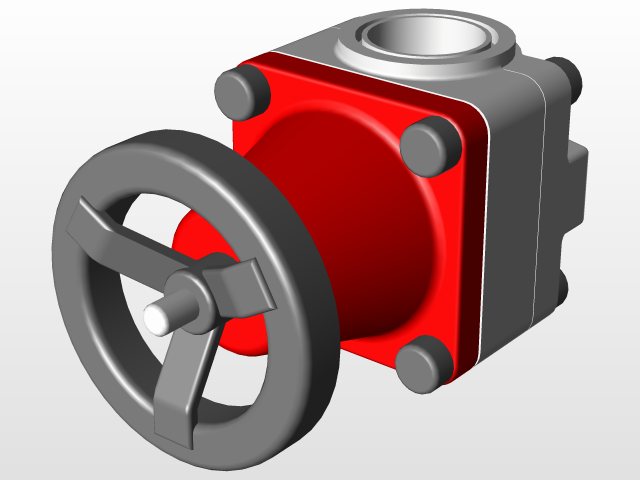 Diaphragm valve 3d cad model library grabcad ccuart Images