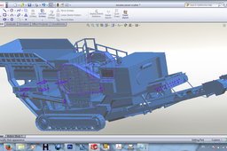 truck mounted crushing plant