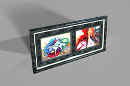 2 in 1 Wall Frame